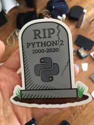 python 2 rip
